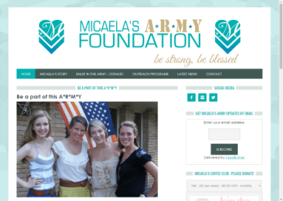 Micaela's Army Foundation